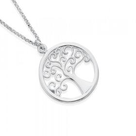 Sterling-Silver-Tree-of-Life-Pendant on sale
