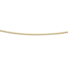 9ct-Gold-50cm-Box-Chain on sale