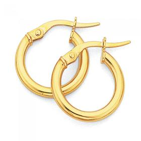 9ct-Gold-Hoops on sale