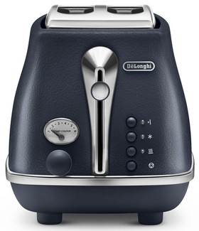 DeLonghi-Icona-Elements-2-Slice-Toaster-Ocean-Blue-CTOE-2003.BL on sale