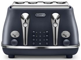NEW-DeLonghi-Icona-Elements-4-Slice-Toaster-Ocean-Blue-CTOE-4003.BL on sale