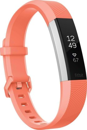 FITBIT-Alta-HR-Fitness-Wristband-Coral-Large-FB408SCRL on sale