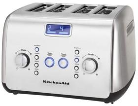 KitchenAid-4-Slice-Toaster-Stainless-Steel-KMT423 on sale