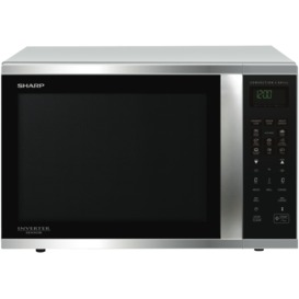 1000W-Stainless-Steel-Convection-Microwave on sale