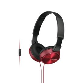 On-Ear-Headphones-Red- on sale