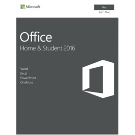 Office-Mac-Home-Student-2016 on sale