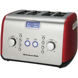 Artisan-4-Slice-Toaster-Empire-Red on sale