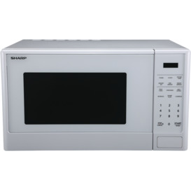 1100W-White-Mid-Size-Microwave on sale