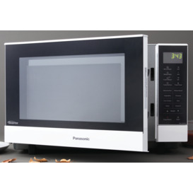 27L-1000W-White-Microwave on sale