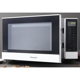 27L-1000W-White-Microwave on sale