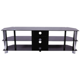 TV-Stand-1600mm-Black on sale