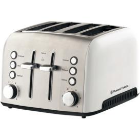 Heritage-Vogue-4-slice-Toaster-White on sale