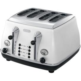 Icona-4-Slice-Toaster-White on sale