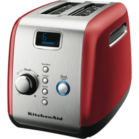 Artisan-2-Slice-Toaster-Empire-Red on sale