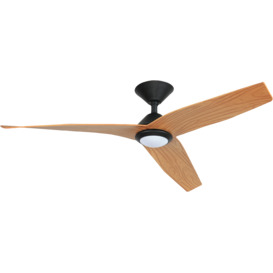 130cm-AVIA-DC-Black-Timber-Ceiling-Fan on sale