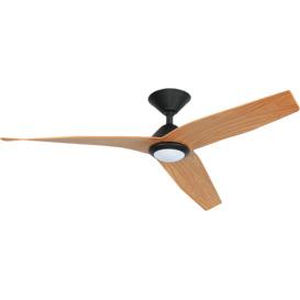 130cm-AVIA-DC-Black-Timber-Ceiling-Fan on sale