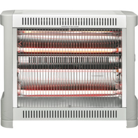 2400W-3-Bar-Grey-Radiant-Heater on sale