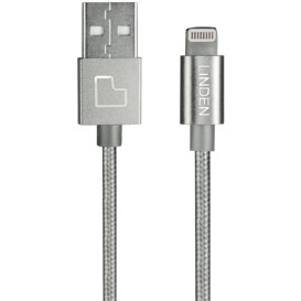 Premium-Lightning-Cable-1m-Silver on sale