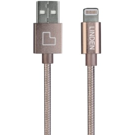 Premium-Lightning-Cable-1m-Gold on sale