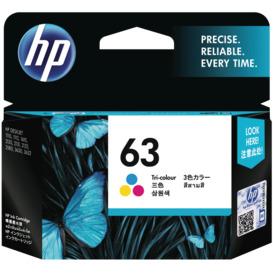 63-Tri-colour-Original-Ink-Cartridge on sale