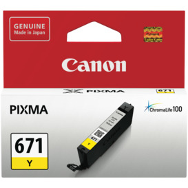 CLI671Y-Yellow-Ink-Cartridge- on sale