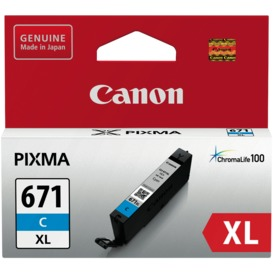 CLI671XLC-Cyan-Extra-Large-Ink-Cartridge on sale