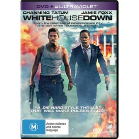 White-House-Down-DVD on sale