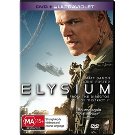 Elysium-DVD on sale