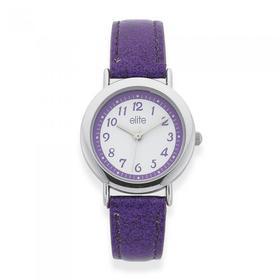 Elite-Kids-Purple-Glitter-Strap on sale