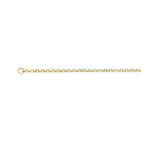 9ct-Gold-45cm-Solid-Round-Belcher-Chain on sale