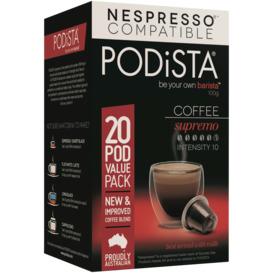 Supremo-Coffee-Pods-20pk on sale