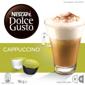 NESCAF-Dolce-Gusto-Cappuccino-Coffee- on sale