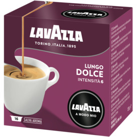 Lavazza-Lungo-Dolce-Coffee-Capsules-16PK on sale