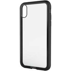 iPhone-Xs-X-Tempered-Glass-Case-Black on sale
