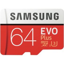 64GB-EvoPlus-Micro-SDXC-Memory-Card on sale