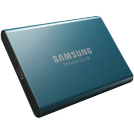 250GB-USB-3.1-Type-C-Portable-SSD-Blue on sale