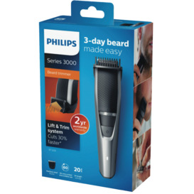 Series-3000-Beard-Stubble-Trimmer-Black on sale