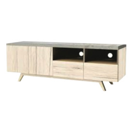 Donata-1500-TV-Cabinet-Oak on sale