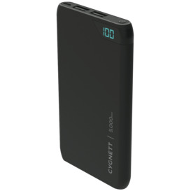 ChargeUp-5000-mAh-Dual-USB-Powerbank-Black on sale