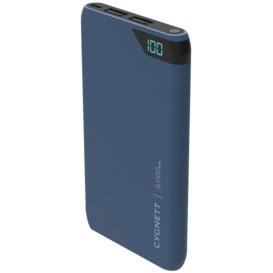ChargeUp-5000-mAh-Dual-USB-Powerbank-Navy on sale