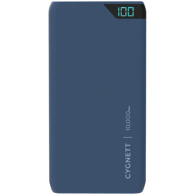 ChargeUp-10000-mAh-Dual-USB-Powerbank-Navy on sale