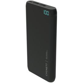 ChargeUp-10000-mAh-Dual-USB-Powerbank-Black on sale
