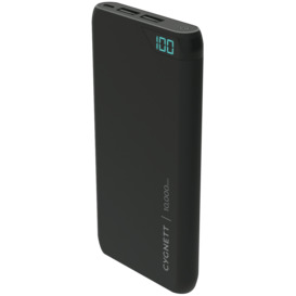 ChargeUp-10000-mAh-Dual-USB-Powerbank-Black on sale