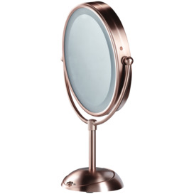 Reflections-LED-Cordless-Mirror-Brushed-Rose-Gold- on sale