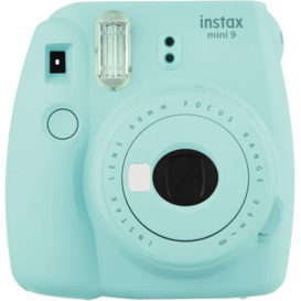 Mini-9-Instant-Camera-Ice-Blue on sale