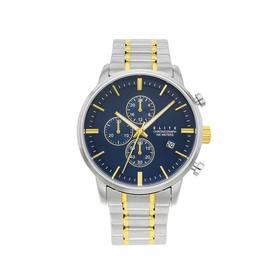 Elite-Mens-Silver-and-Gold-Tone-Watch on sale