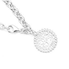 Sterling-Silver-Tree-Of-Life-Bracelet on sale