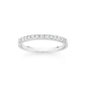 18ct-White-Gold-Diamond-Band on sale