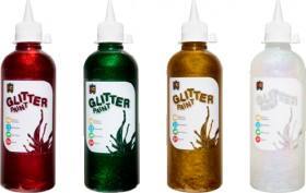 Educational-Colours-Glitter-Paint on sale