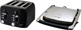 Nero-4-Slice-Toaster-and-Sandwich-Press-Stainless-Steel on sale